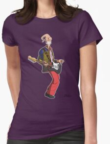 Earthworm Jimi Hendrix Womens Fitted T-Shirt