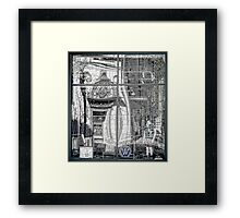 Providence Department Store Reflection  Framed Print