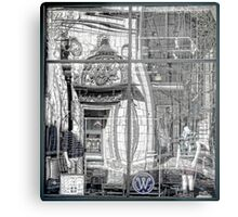 Providence Department Store Reflection  Metal Print