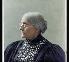 Susan B. Anthony, ca. 1900 by Dana Keller