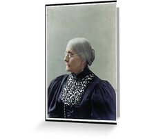 Susan B. Anthony, ca. 1900 Greeting Card