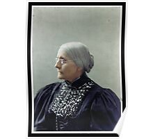 Susan B. Anthony, ca. 1900 Poster