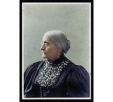 Susan B. Anthony, ca. 1900 Photographic Print