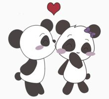 Panda Love Apparel  by charsheee