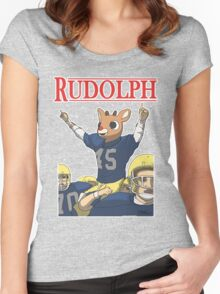 Rudolph Women's Fitted Scoop T-Shirt