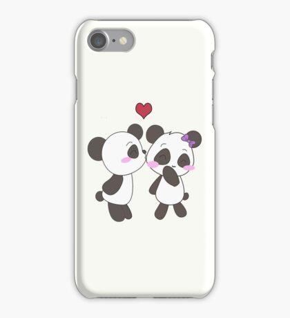 Panda Love!  iPhone Case/Skin
