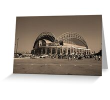 Miller Park - Milwaukee Brewers Greeting Card