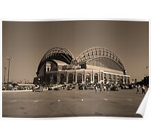 Miller Park - Milwaukee Brewers Poster