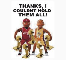 Kobe And Lebron Puppets: 5 Rings For Kobe by bc98