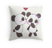 Panda Love!  Throw Pillow