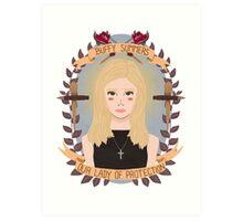 Buffy Summers Art Print
