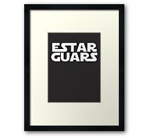 Estar Guars Framed Print