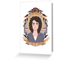 Ellen Ripley Greeting Card