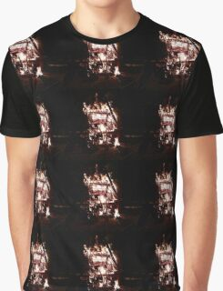 Trolley Fire Graphic T-Shirt