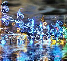 Christmas Lights Fantasy #2 by kenspics