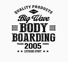 Bodyboarding Extreme Sport Black Art Unisex T-Shirt