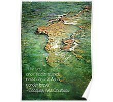 Ocean Typography Poster