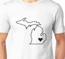 Michigan Love - Black  Unisex T-Shirt