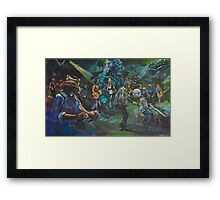 The closing night Airlie Beach Music festival Framed Print