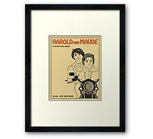 Harold and Maude - Plain Framed Print