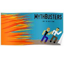 MythBusters Minimalized Poster
