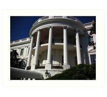 Entrance to the White House Art Print