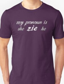 pronouns! zie T-Shirt