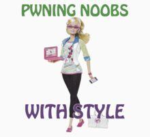 Girls pwn too! One Piece - Short Sleeve