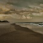 Burleigh Beach by Murray Swift