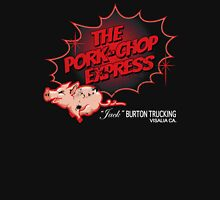 Pork Chop Express - Distressed Red Fade Variant Unisex T-Shirt