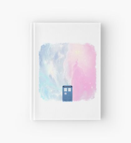 tardis in space Hardcover Journal