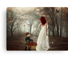 Come With Me... Canvas Print
