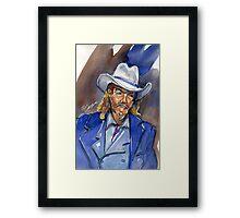 Wild Bill Framed Print