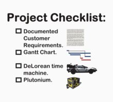 Project Checklist Kids Clothes