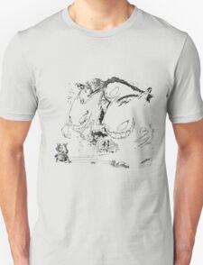 Cubone VS Ghost Type Unisex T-Shirt