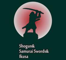 Small version - Shogun, Samurai Swords and Ikusa board game. by bellingk