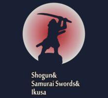 Small version - Shogun, Samurai Swords and Ikusa board game. Kids Clothes