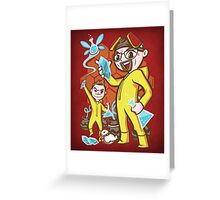 The Legend of Heisenberg Greeting Card