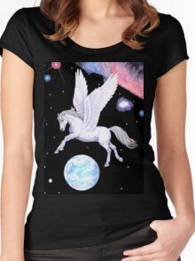 Constellation Women's Fitted Scoop T-Shirt