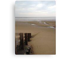 UK - Burnham on Sea Canvas Print