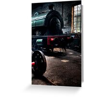 Shed & Locomotive Greeting Card