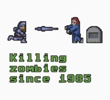 Killing zombies since 1985. Kids Clothes