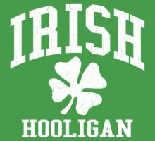 IRISH Hooligan (Vintage Distressed Design) by robotface