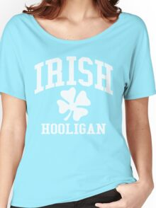 IRISH Hooligan (Vintage Distressed Design) Women's Relaxed Fit T-Shirt