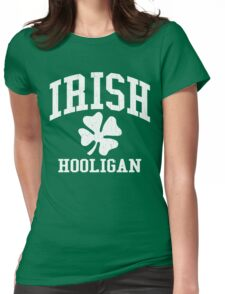 IRISH Hooligan (Vintage Distressed Design) Womens Fitted T-Shirt