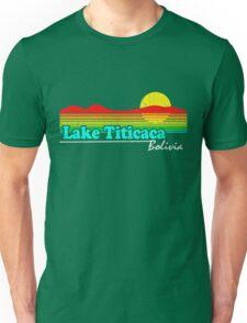 Funny Lake Titicaca, Bolivia (Vintage Distressed) Unisex T-Shirt