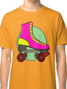 Retro Skate - Pink Classic T-Shirt