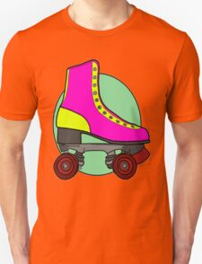 Retro Skate - Pink Unisex T-Shirt