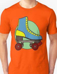 Retro Skate - Blue Unisex T-Shirt