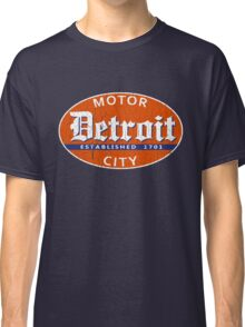 Vintage Detroit (Distressed Design) Classic T-Shirt